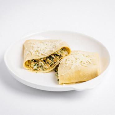 Crepioca de Frango com Espinafre - 298 kcal