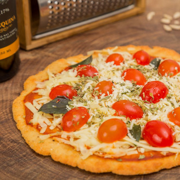 Pizza Margherita Low Carb
