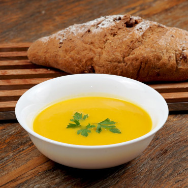 Sopa de Cenoura ao Gengibre e Requeijão - 168kcal