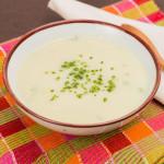 Sopa de Couve-Flor e Gorgonzola